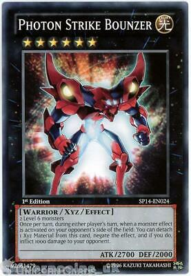 £1.45 • Buy SP14-EN024 Photon Strike Bounzer 1st Edition Mint YuGiOh Card