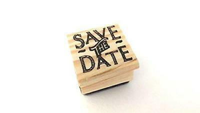 East Of India Rubber Stamp - SAVE THE DATE • 3.49£