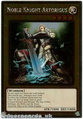NKRT-EN003 Noble Knight Artorigus Platinum Rare Limted Edition Mint YuGiOh Card • 0.99£