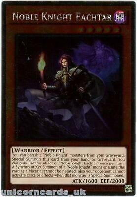 NKRT-EN011 Noble Knight Eachtar Platinum Rare Limted Edition Mint YuGiOh Card • 0.99£