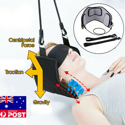 AU13.95 • Buy Head Hammock Cervical Traction Stretcher Neck Pain Relief Support Massager Tools