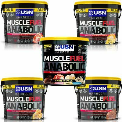 USN Muscle Fuel Anabolic 4Kg / 4000g - All Flavours - Lean Muscle All In Protein • 44.90£