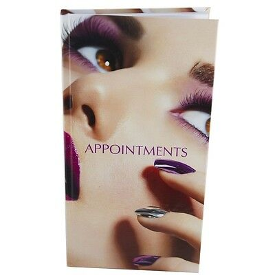 Appointment Diary Hair Nail Beauty Book 3 Column NAIL On FACE Modern Image  • 9.95£