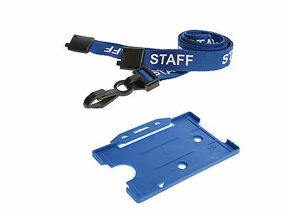 ID Card Pass Badge Name Holder And Matching Staff Neck Strap Lanyard NHS Office • 2.99£