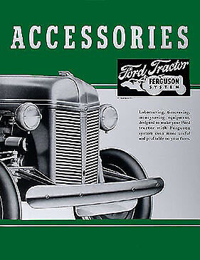 AU28.50 • Buy 1939-1947 Ford 2N 9N Accessory Brochure Set Tractor Accys Dearborn Implements