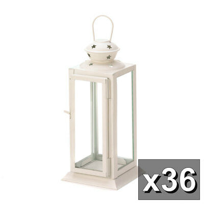 Lot Of 36 Starlight Candle Lantern Floral Display Centerpiece WEDDING Wholesale • 311.87$