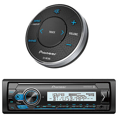 $150.99 • Buy New JVC Marine Boat Motorcycle Bluetooth USB Stereo Pandora Radio W/Wired Remote