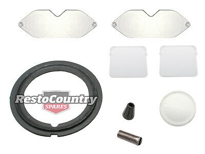 AU81.90 • Buy Holden GTS Gauge Lens Kit HJ HX HZ Speedo Tacho Clock Dash NEW Cluster