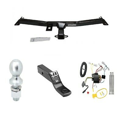 class 3 trailer hitch tow kit w/2 ball & wiring for toyota fj cruiser