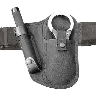 BH3 Protec Police Black Hand Cuff And 26  Baton Holder • 17.85£