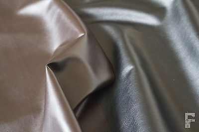 Soft Dress Weight Pvc Leather Fabric - 1 Way Stretch - Ideal For Cosplay • 9£