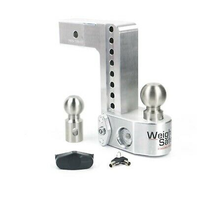 Weigh Safe WS8-2.5 Adjustable 8  Drop Hitch Ball Mount W/ Tongue Weight Scale • 254.15$