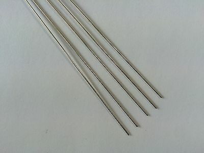 £6.95 • Buy Albion Alloys Nickle Silver Rod 305mm X 0.1mm - Pack Of 6 NSR01