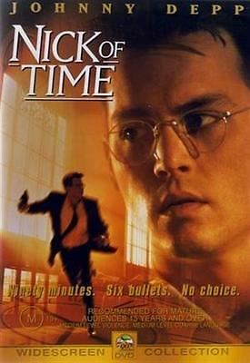 AU14.95 • Buy NICK OF TIME Johnny Depp (DVD, 2003) NEW