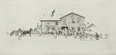 $ CDN2188.17 • Buy Norman Rockwell  Blacksmith Shop  1971 | Rare Signed Lithograph | Make An Offer
