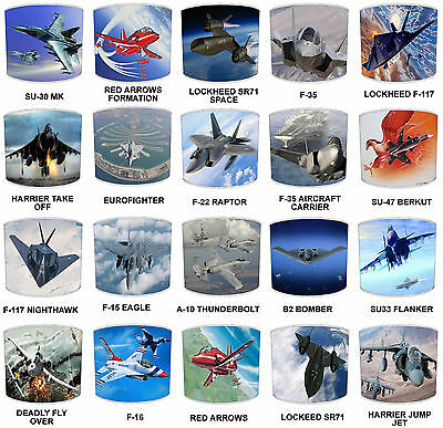 £27.99 • Buy Planes Lampshades Ideal To Match Aeroplane Duvets & Jets Wall Decals & Stickers