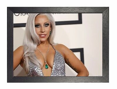 Lady Gaga 1 Pop Singer Icon Poster Germanotta Sexy Actress Music Star Picture • 8.99£