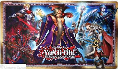 Yu-Gi-Oh! Noble Knights Of The Round Table Playmat :: Official Konami Mat :: • 4.29£
