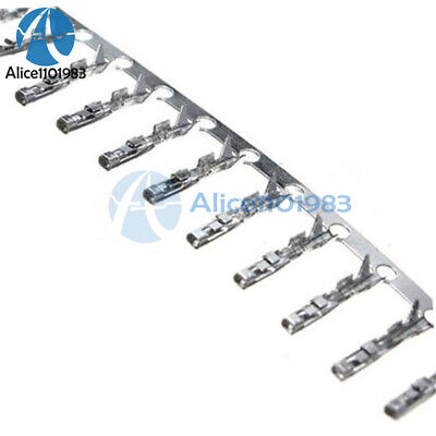 AU6.02 • Buy 1000Pcs Dupont Jumper Wire Cable Housing Female Pin Connector Terminal 2.54mm AL