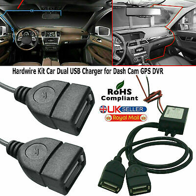 £4.15 • Buy 12V To 5V 3A Dual USB Car Charger DC Converter Connector Module For Mobile Phone