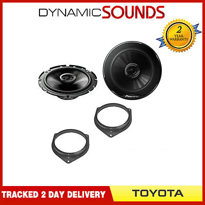 Front Or Rear Door 6.5  17cm Car Speaker Upgrade Kit For Toyota Avensis (2005>) • 34.95£