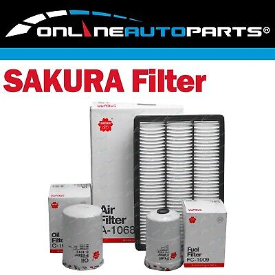 AU49.95 • Buy Air Oil Fuel Filter Service Kit For Pajero 4M41-T Turbo Diesel 3.2L NM NP 02~06