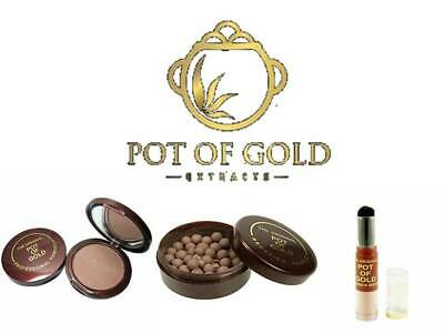 Pot Of Gold Bronzer Compact Brush **choose** • 5.99£