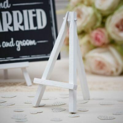 £5.95 • Buy Mini White Easels X3 | Wedding Table Centrepiece Party Display Stands