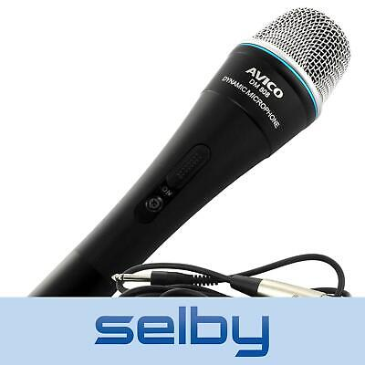 AU29 • Buy Dynamic Cardioid Vocal Karaoke Stage Microphone W/ Switch & Mic Cable DM-808