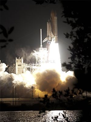 Space Shuttle Endeavour Roars To Life Art Print Poster 286pya • 13.50£