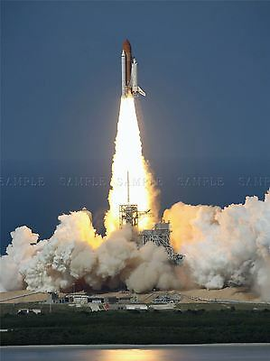 Space Shuttle Discovery Launch International Station Art Print Poster 410pya • 13.50£