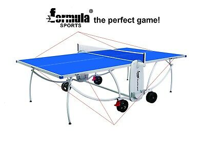 AU749.95 • Buy Formula Sports OUTDOOR Table Tennis Ping Pong Table With Wheels Man Cave Gift