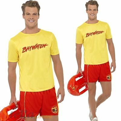 £19.99 • Buy Mens Baywatch Beach Costume Lifeguard Official Fancy Dress 90s 80s Stag Outfit