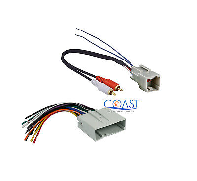 $8.50 • Buy Aftermarket Radio Amplifier Wiring Harness For 2003-up Ford Lincoln Mercury