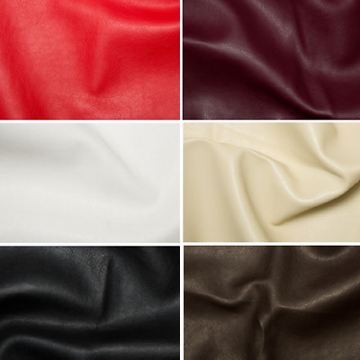 Faux Leather Look Soft PVC Leathercloth Fabric Clothing, Vinyl, Upholstery Car  • 0.99£
