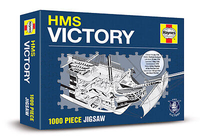 Hms Victory 1000 Piece Haynes Jigsaw - New Lord Horatio Nelson Ship  • 10.99£