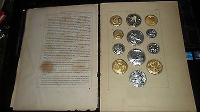 £61.57 • Buy 1800's Barclays Copies Of Ancient Greece / Egypt Coins Gold And Silver Coins