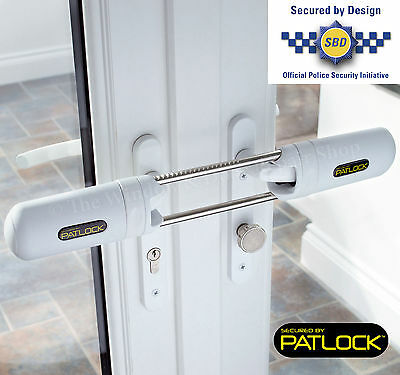 £52 • Buy PATLOCK Patio Conservatory French Double Door Dead Lock Extra Security Device