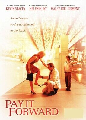 AU14.25 • Buy Pay It Forward (Kevin Spacey Helen Hunt) New DVD R4