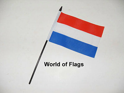 £3.50 • Buy HOLLAND SMALL HAND WAVING FLAG 6  X 4   Netherlands Table Desk Crafts Display