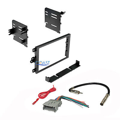 $16.95 • Buy Car Radio Stereo Double Din Dash Kit Harness Antenna For 1992-up GM Chevy Isuzu