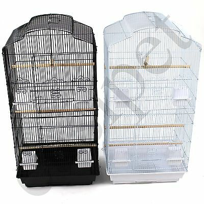 £34.99 • Buy Large Metal Bird Cage Budgie Canary Parakeet Cockatiel Finch Lovebird Tall Cages