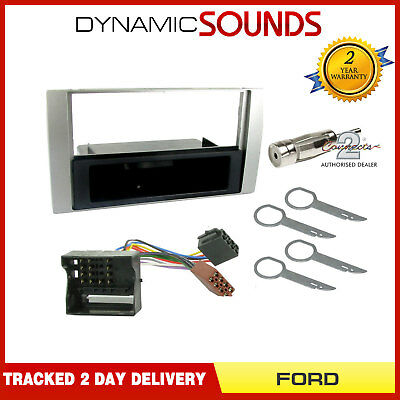 £19.95 • Buy Single Din Car Stereo Fascia Wiring Harness Fitting Kit For Ford Focus (04-07)