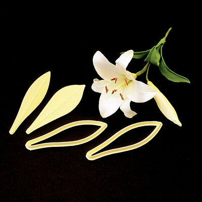 FMM Cutter Exotic Lily Embosser Cake Icing Flower Tool Sugarcraft • 5.99£