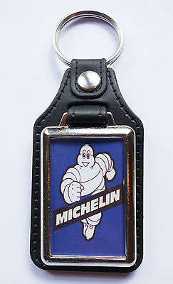 £4.95 • Buy Michelin Man Faux Leather Key Ring.michelin Tyres,classic Racing Tyres.