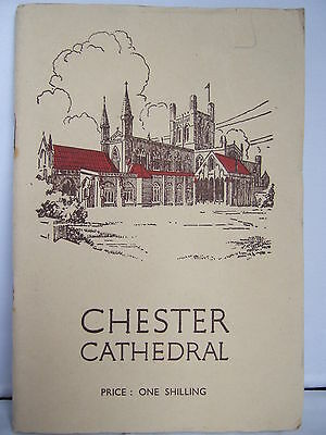 Chester Cathedral - Guide 1952 - Illustrated • 4.95£
