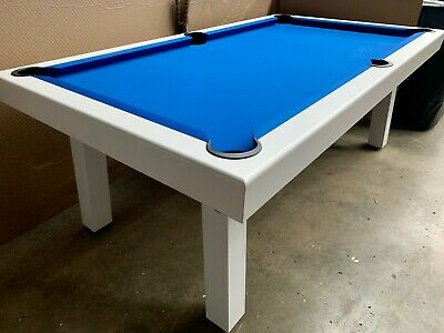 AU2499.95 • Buy Aura Outdoor 7ft Slate Aluminium Pool Snooker Billiard Table + Dinning Seat Opt