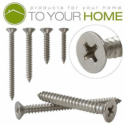 £1.46 • Buy Countersunk Self Tapping Pozi Wood Chipboard Screws A2 Stainless Steel