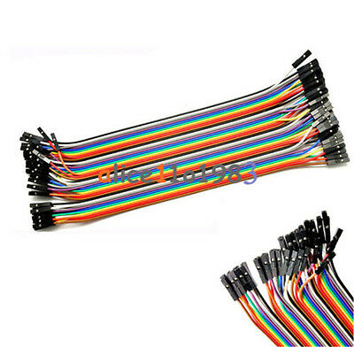 AU15.99 • Buy 400PCS 10X40 Dupont Wire Jumper Cable Pin Connector 2.54mm 20cm Female To Female