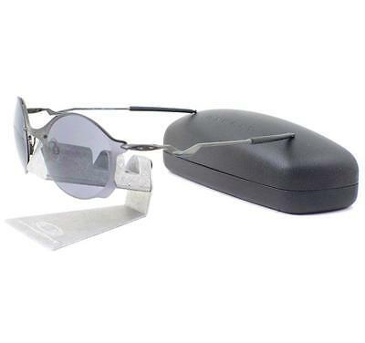 AU159.99 • Buy Oakley OO 4088-05 Tailend Carbon W/ Grey Mens Rare Wire Collector Sunglasses